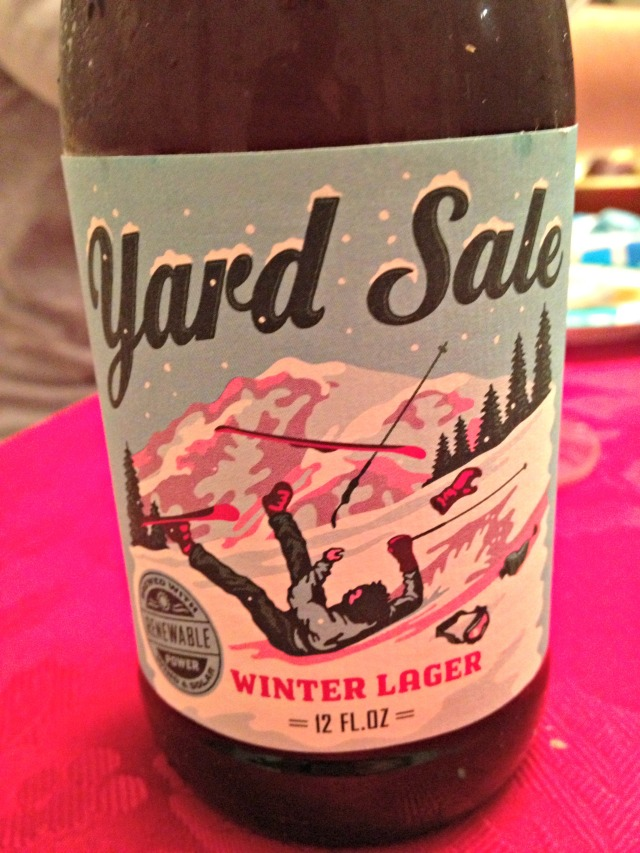 Yard Sale Winter Beer
