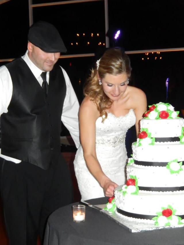 Cate and Joe's Wedding Cake