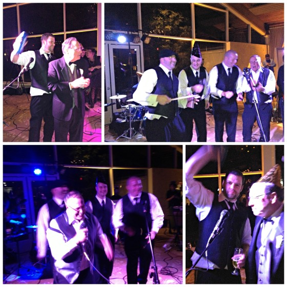 Cate & Joe's Wedding - Guys Singing