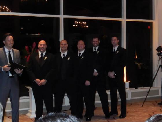 Cate & Joe's Wedding: Groomsmen