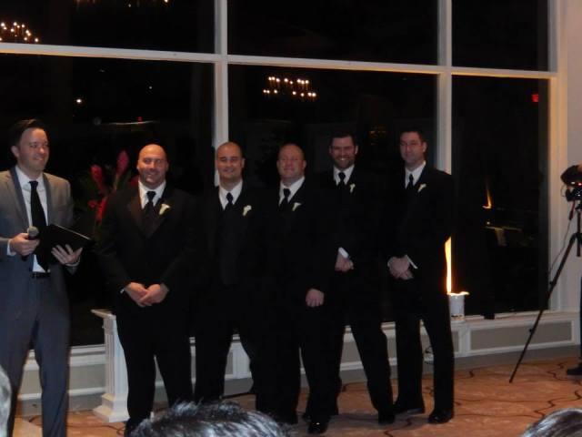 Cate & Joe's Wedding: Groomsmen