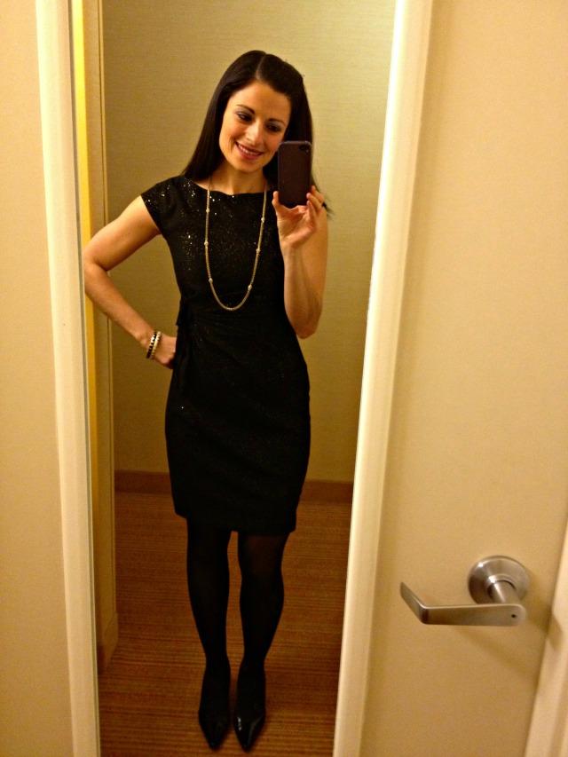 Cate & Joe's Wedding: Hotel Selfie