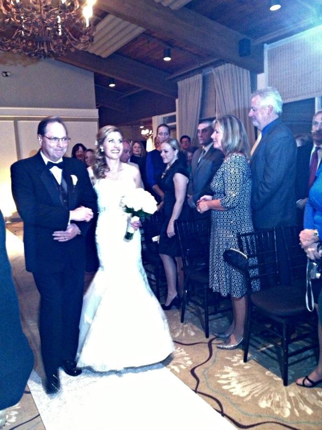 Cate & Joe's Wedding: Aisle