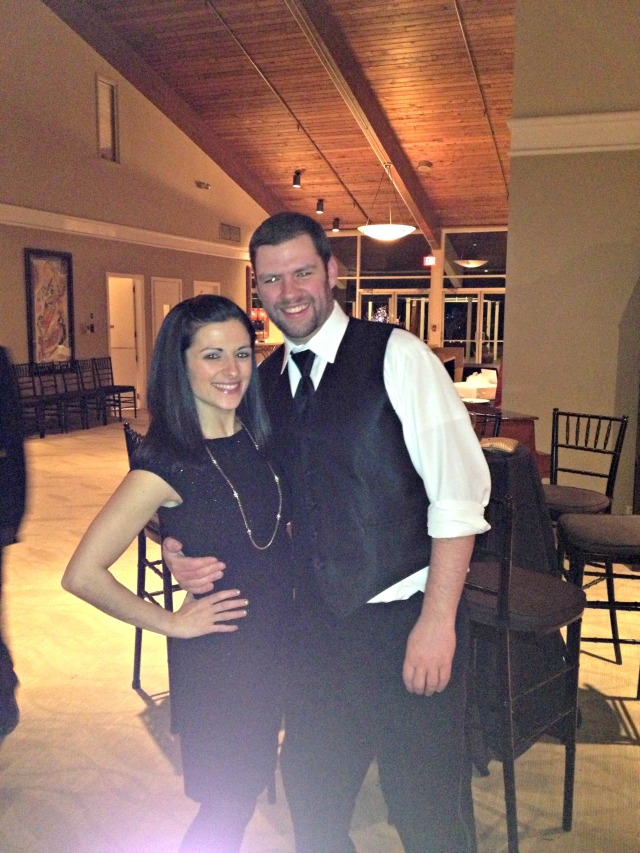 Cate & Joe's Wedding: Me & Tim