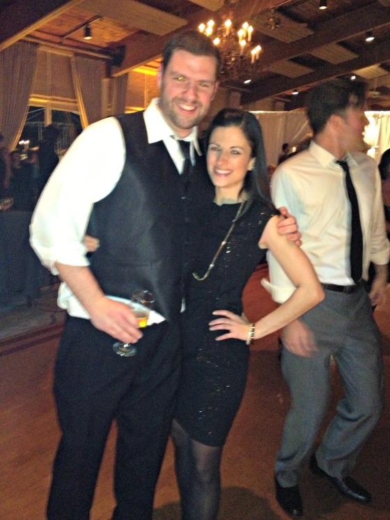 Cate & Joe's Wedding - Me & Tim