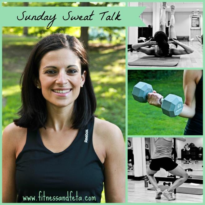 Sunday Sweat Talk