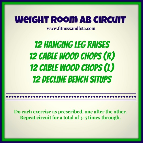 Weight Room Ab Circuit