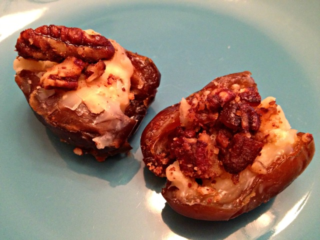 Gorgonzola Stuffed Dates