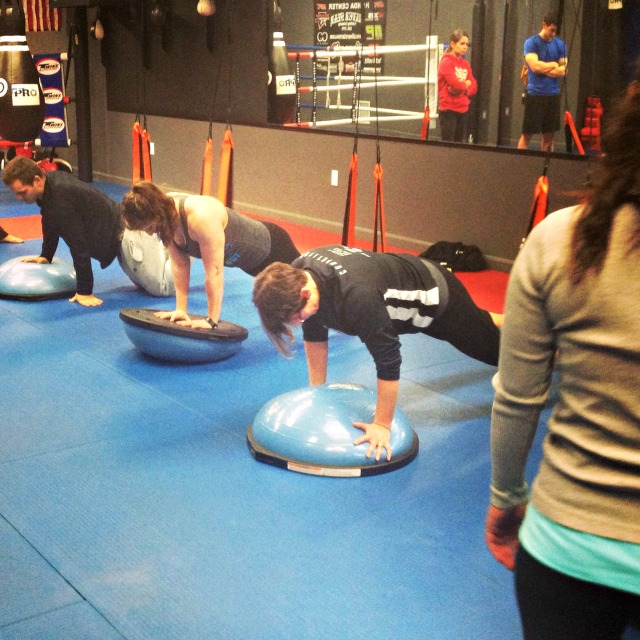 MMA Fighter Fit - Bosu & AirFit