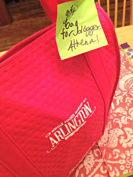 Whole Foods Arlington Gift Bag