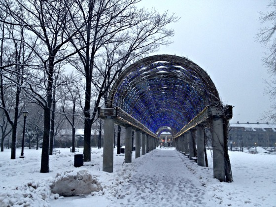 Valentine's Day 2014: Snowy Seaport