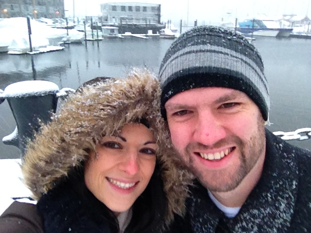 Valentine's Day 2014: Snowy Seaport