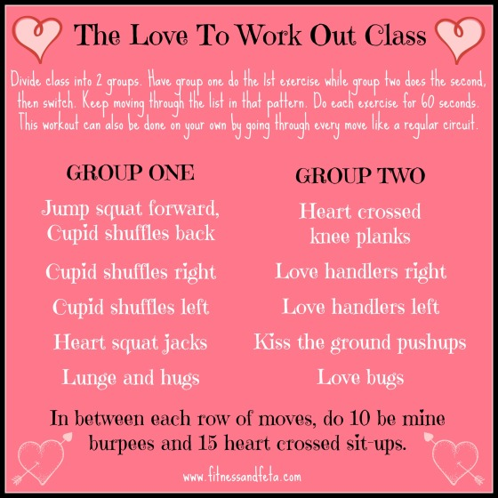 Love To Work Out Class
