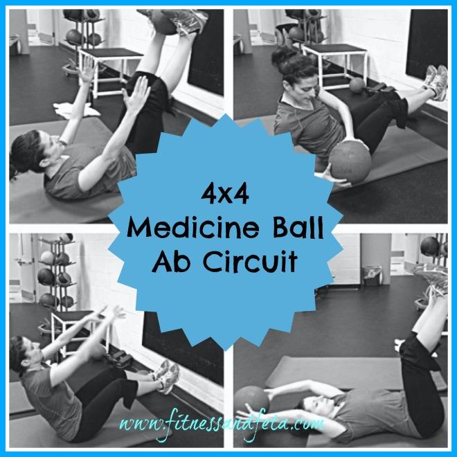 4x4 Medicine Ball Ab Circuit