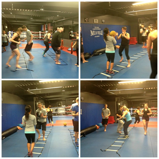 MMA Fighter Fit Cert - agility ladders