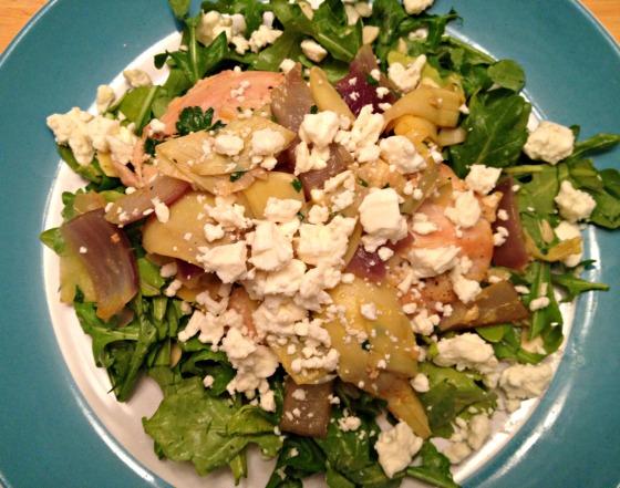 Chicken Artichoke Salad