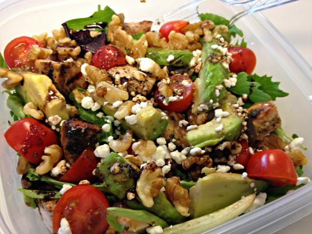 Turkey tip salad
