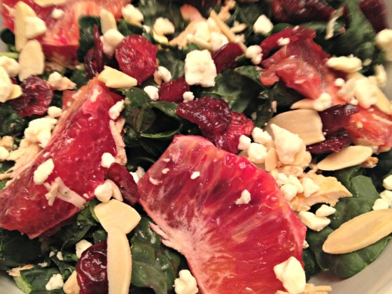 Kale and Blood Orange Salad