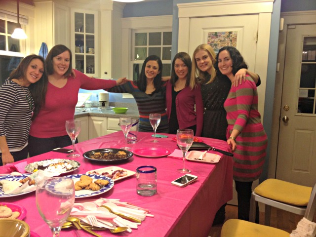 Gym Friends Pink Party