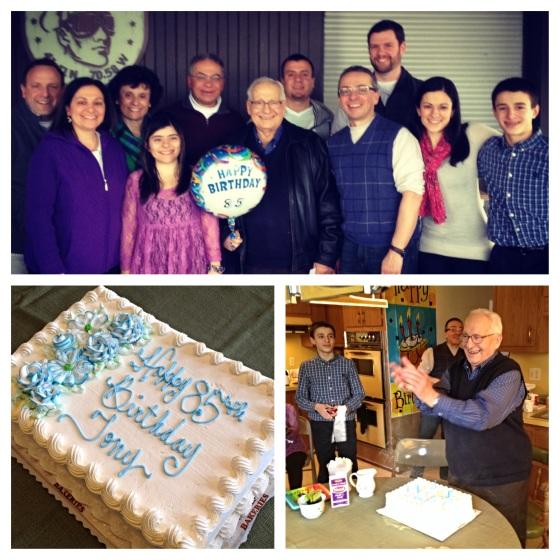 Papou's 85th birthday party