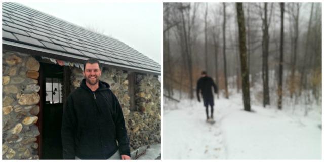 Perfect Vermont Snowshoe