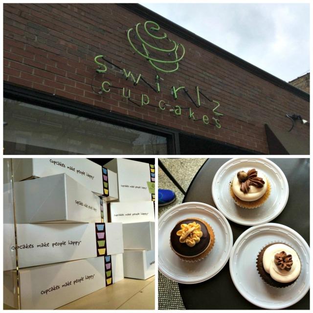 Chicago Swirlz Cupcakes