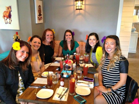 Katrina's Bridal Shower: Boston babes