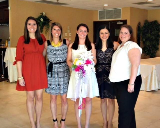 Slesh's Bridal Shower: Bridal Party