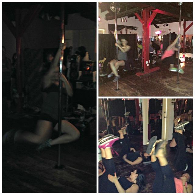 Katrina's Bachelorette Party: Pole Dancing