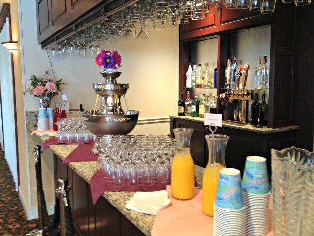 Slesh's Bridal Shower: Mimosa Fountain