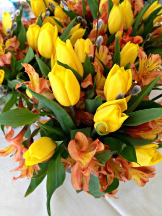 Slesh's Bridal Shower: Flowers