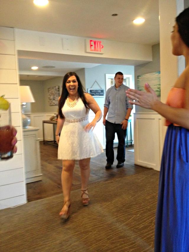 Katrina's Bridal Shower: Entrance