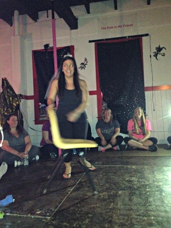 Katrina's Bachelorette: Pole Dancing