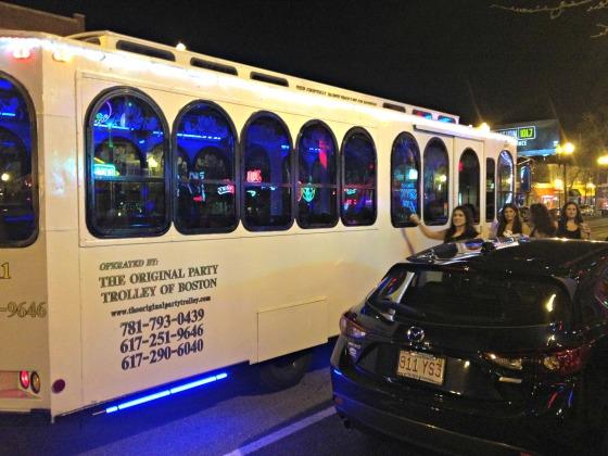 Katrina's Bachelorette: Party Bus