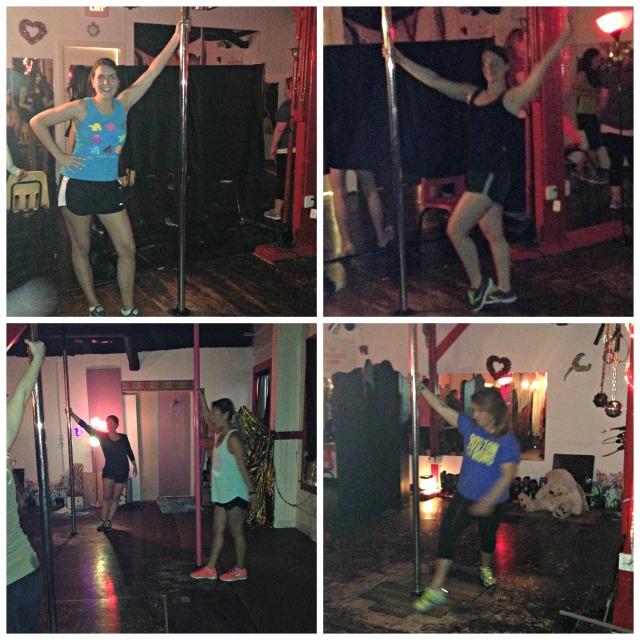 Katrina's Bachelorette: Pole Dancing 1