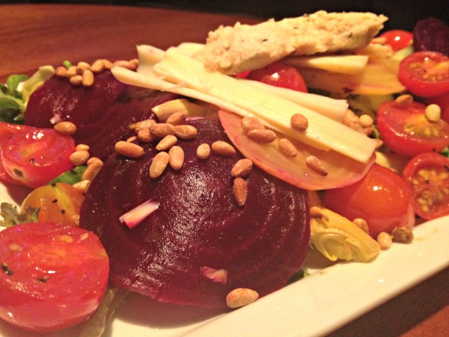 Jerry Remy's Athlete's Menu Beet Salad