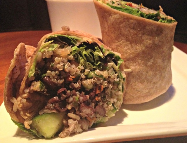 Jerry Remy's Athlete's Menu: Quinoa Wrap