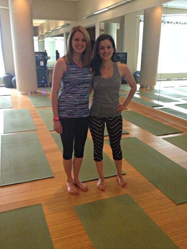 Boston Magazine Health and Wellness Retreat: Yoga Class
