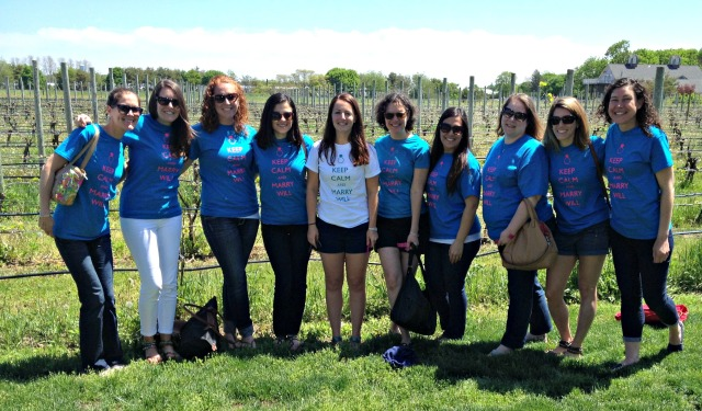Slesh's NYC Bachelorette: Wine Tour