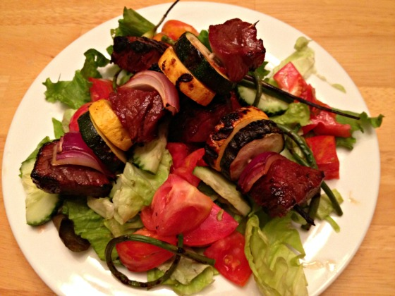 Summer 2014 CSA: Grilled Steak Kabobs