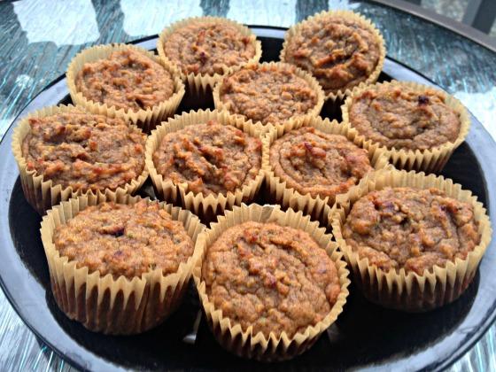 Summer 2014 CSA: Grain Free Zucchini Muffins