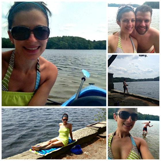 Staycation: Kayaking
