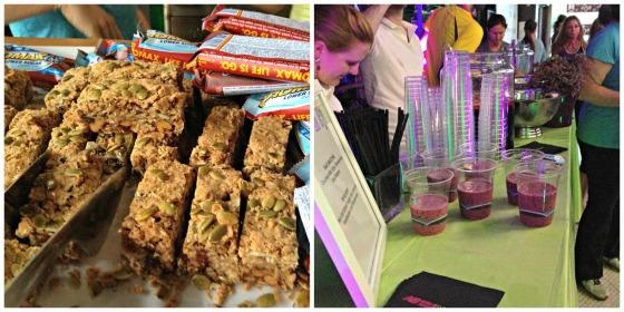 New Balance Girls Night Out: Snacks