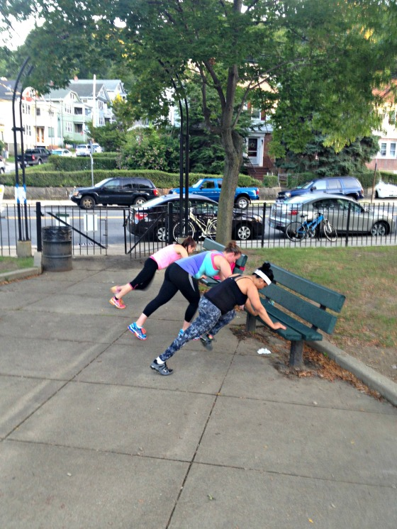 Park Bench Circuit Workout