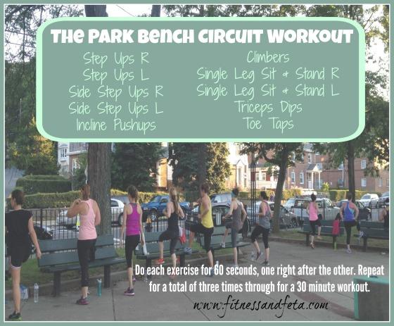 Park Bench Circuit Workout