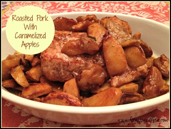 Roasted Pork with Caramelized Apples