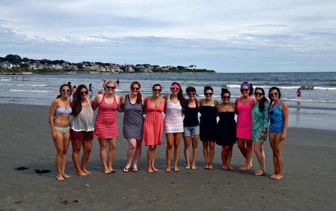 Erica's Last Sail Before the Veil: Beach Day