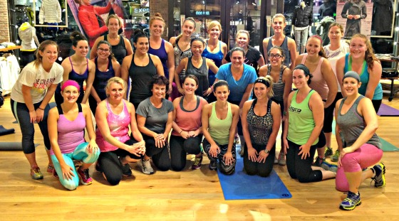 Athleta Legacy Place: Birthday Bootcamp