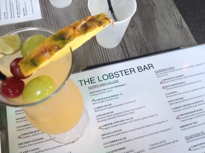 Erica's Last Sail Before the Veil: Lobster Bar