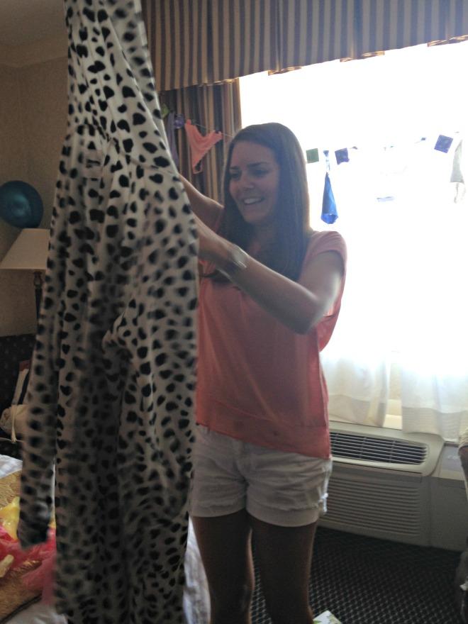 Erica's Last Sail Before the Veil: Pajamas